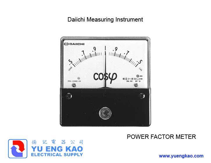 Power Factor Meter : Power factor meter daiichi products yu eng kao